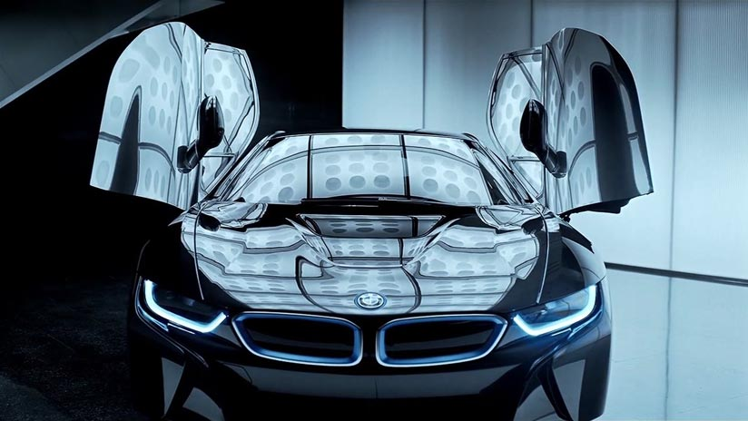 BMW Group - BMW i8 in detail (Carbon)