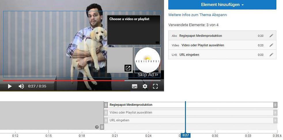 Abspanne und Infokarten statt Anmerkungen auf YouTube zur Optimierung der User-Experience für Videomarketing