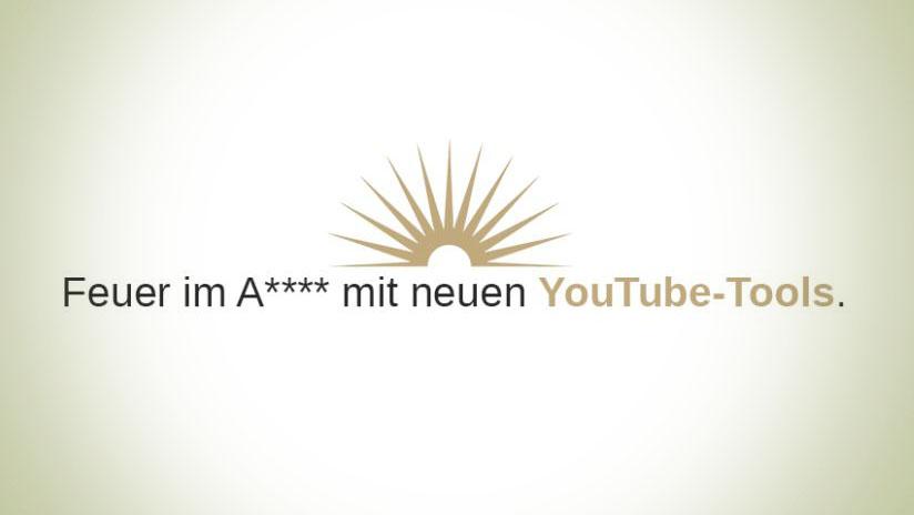 Brandneue YouTube-Tools für optimiertes Videomarketing